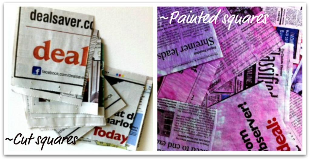 Paper Pom Poms Materials