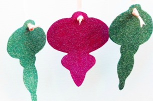 Vintage Style Christmas Ornaments - The Sewing Loft