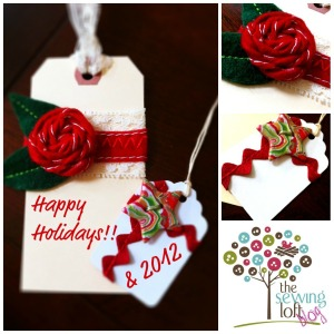 Holiday Tags -The Sewing Loft