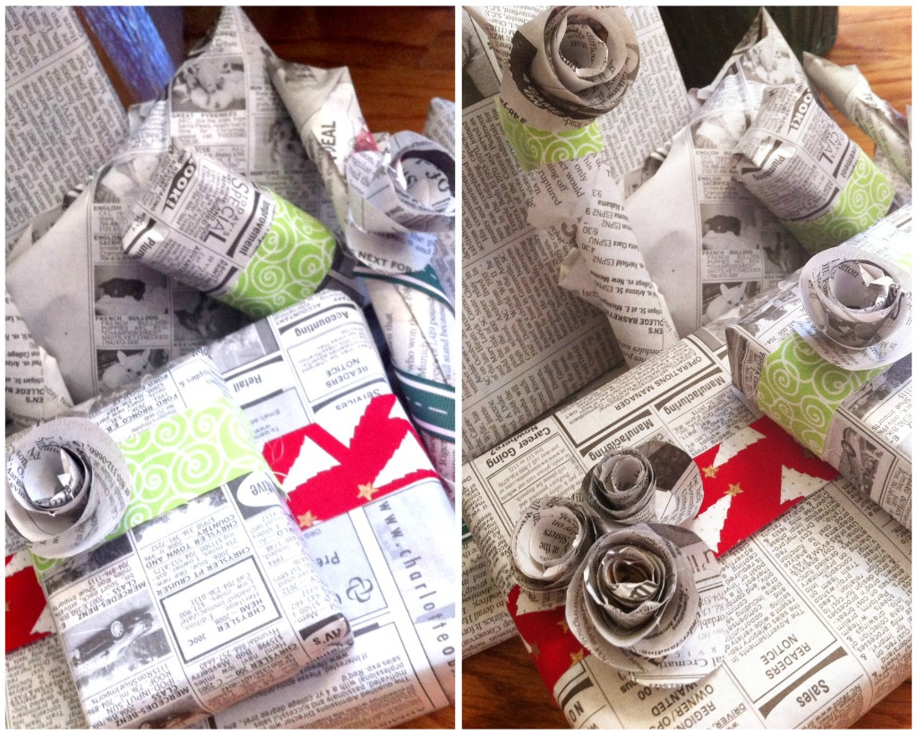 Reclaimed Gift Wrap - The Sewing Loft