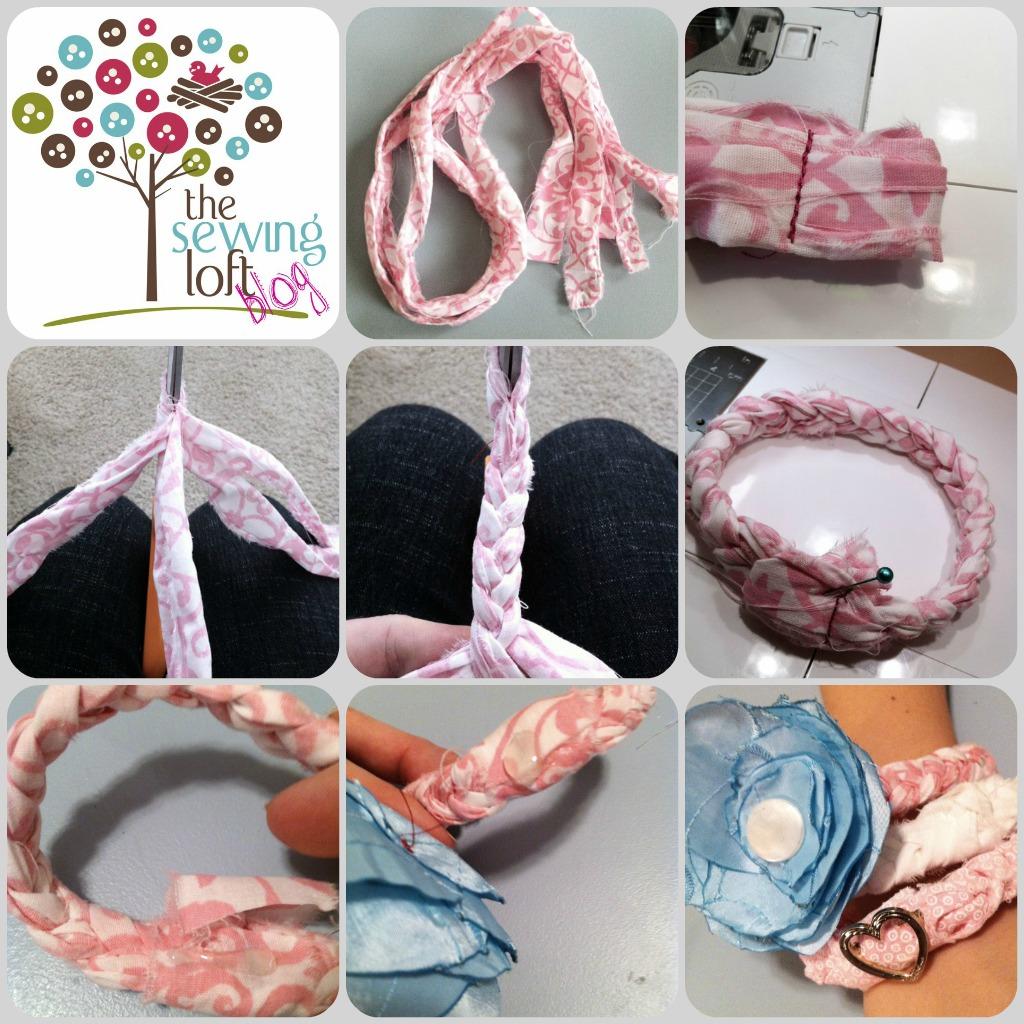 Easy Fabric Bracelet Fabric Bracelet Tutorial