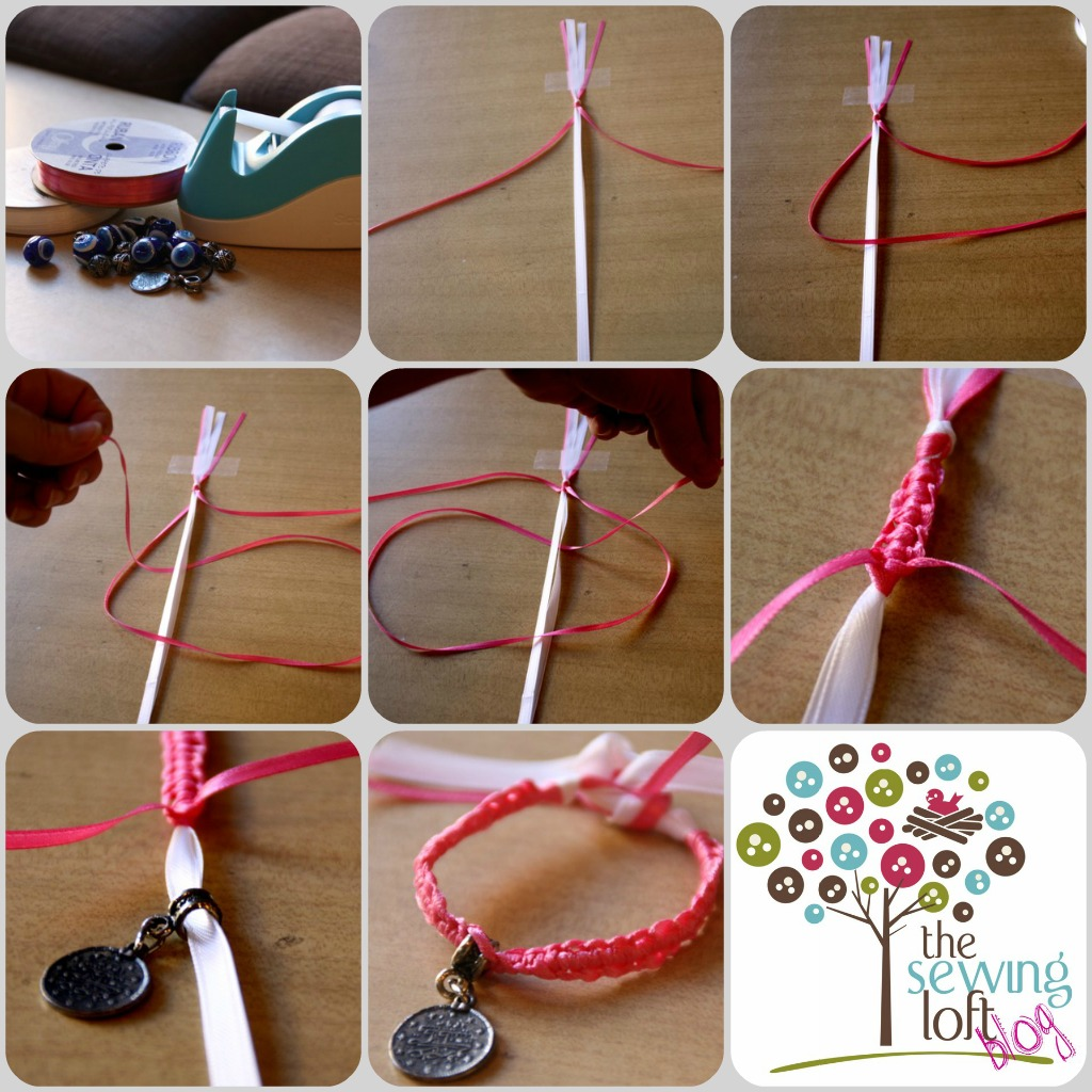 Simple Friendship Bracelet How To - The Sewing Loft