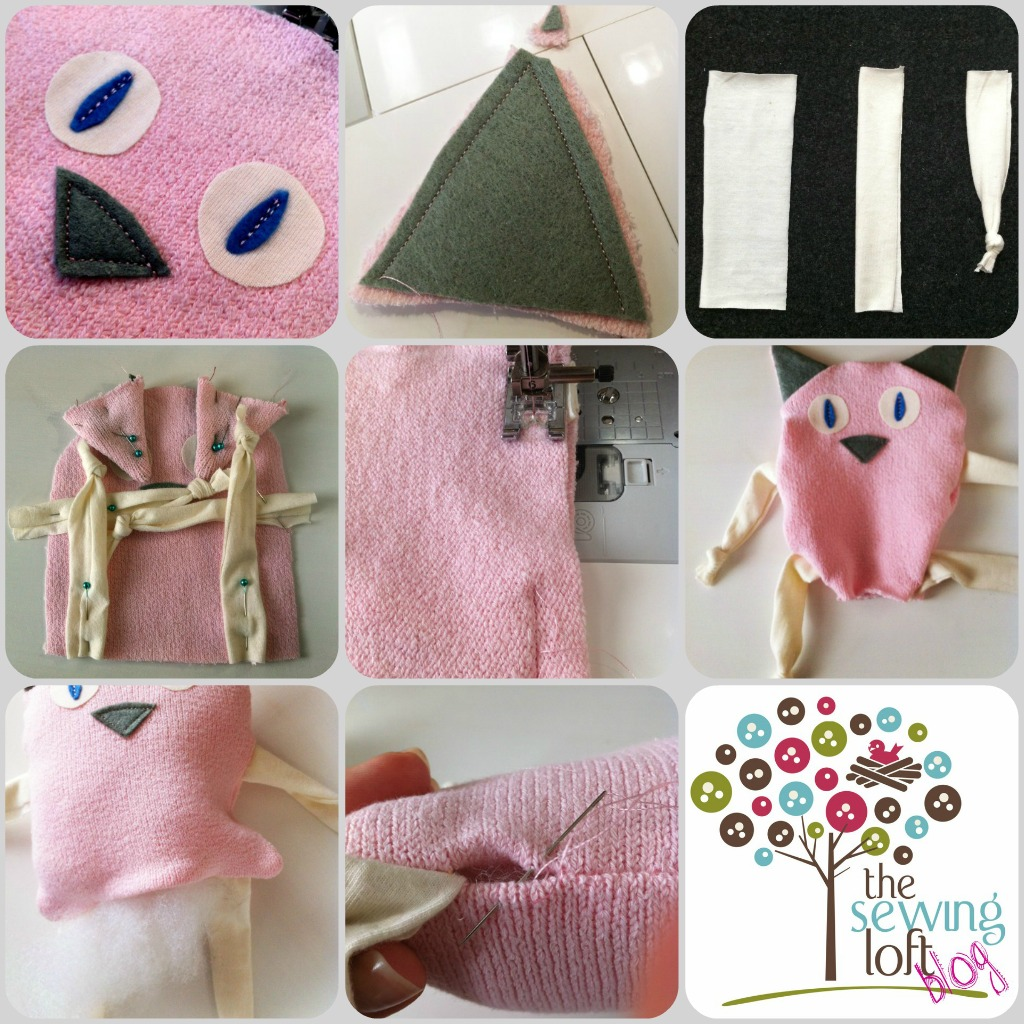Sweater Kitty How To -The Sewing Loft