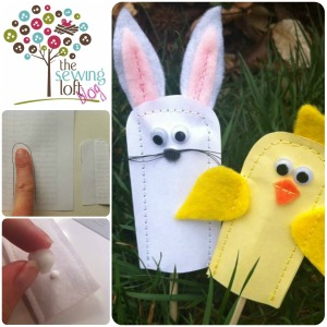 Finger Puppet Fun | TheSewingLoft.com