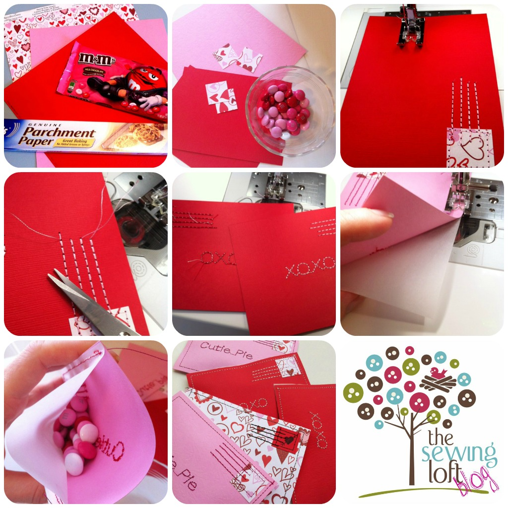 Candy Filled Love Letters thesewingloftblog.com