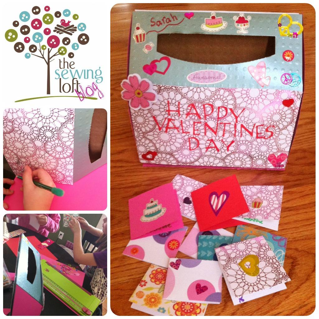 Easy Valentine\'s Day Mailbox   Classroom Mailbox