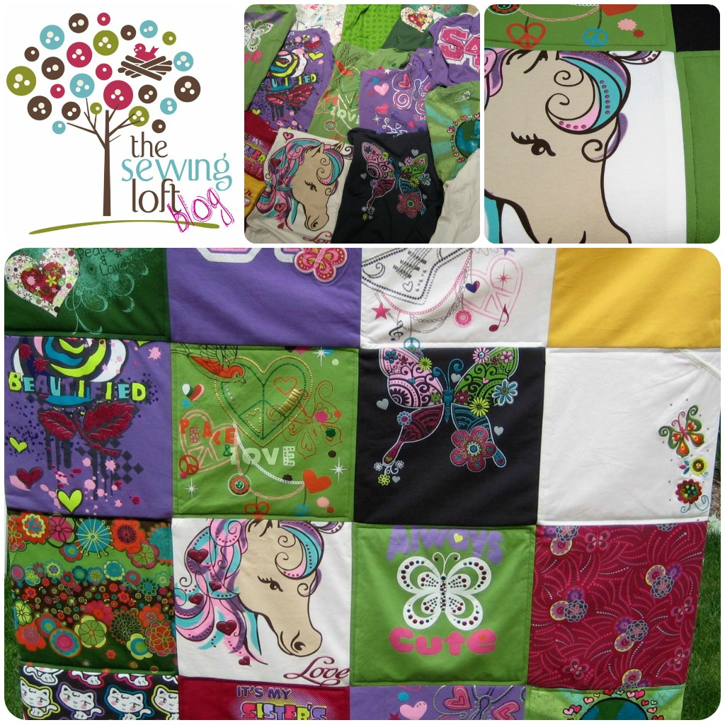Tee Shirt Memory Quilt Easy How To Create A Memory Quilt