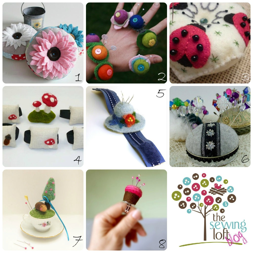 Pin Cushion Round Up - The Sewing Loft