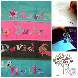 Personalized Beach Towel -The Sewing Loft