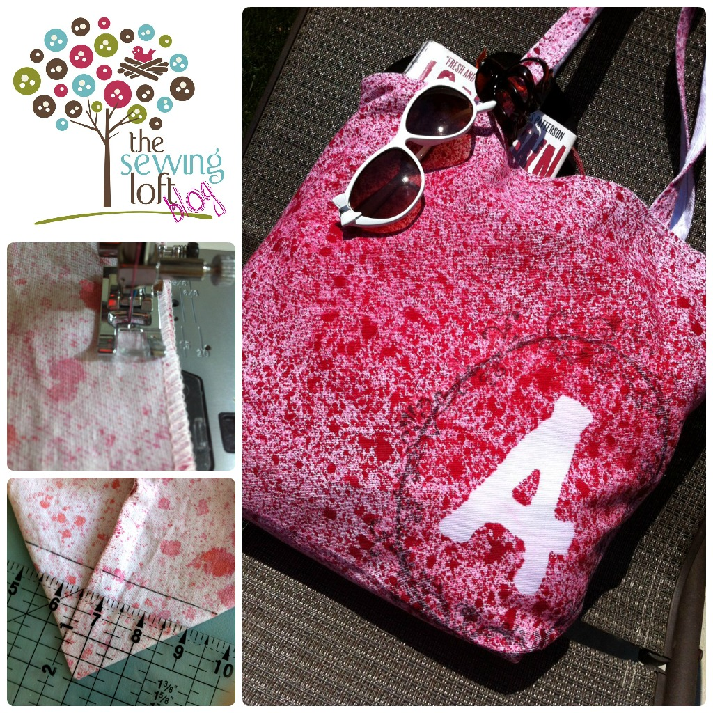 tote bag tutorial / the sewing loft